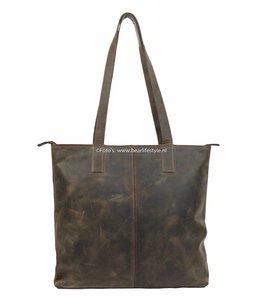 Bear Design Shopper Dark Nature 'Libelle' bruin HD35010