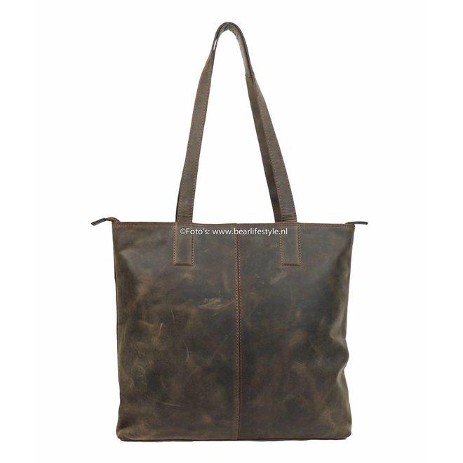 Shopper Dark Nature 'Libelle' bruin HD35010