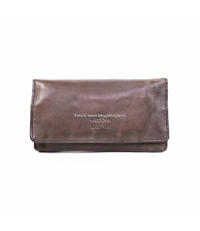 Bear Design Damesportemonnee Overslag CL9918 Lavender