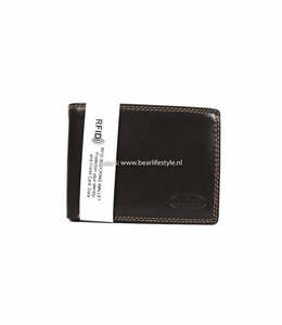 Bear Design Chique Billfold Anti-skim - Bruin M7254