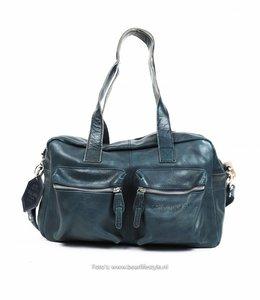 Bear Design Schulter / Handtasche - BU3032 Blau