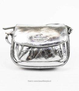 Bear Design Mini Schultertasche - M5228 Silber
