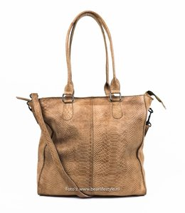 Bear Design Shopper 'Serena' Taupe - Phyton 1540