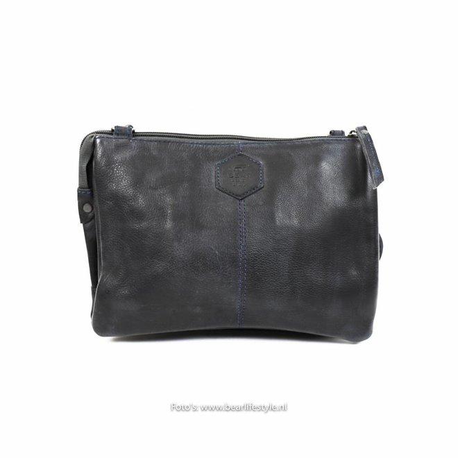 CP1268 Brieftasche Tasche XL 'Uma' Blau