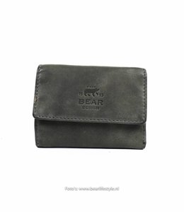 Bear Design Klein Lederwaren/Portemonnee - Grijs CL14618
