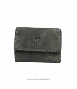 Bear Design Kleines Portemonnaie CL14618 Grau