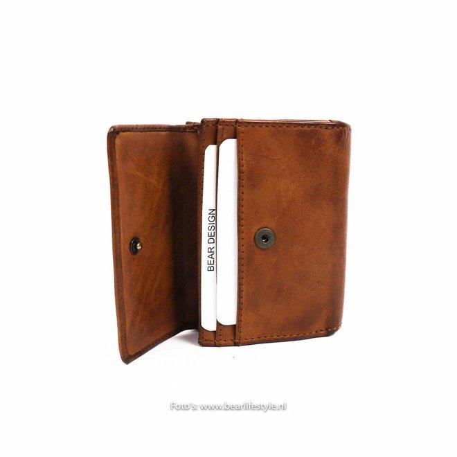 Klein Lederwaren/Portemonnee - Cognac CL14618