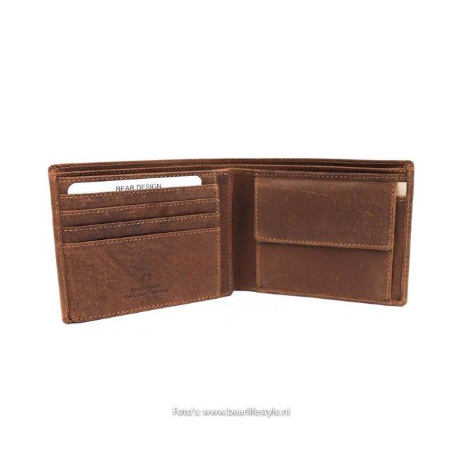 Brieftasche VG13552 Cognac