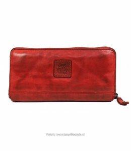 Bear Design Große Geldbörse CL14898 Rot
