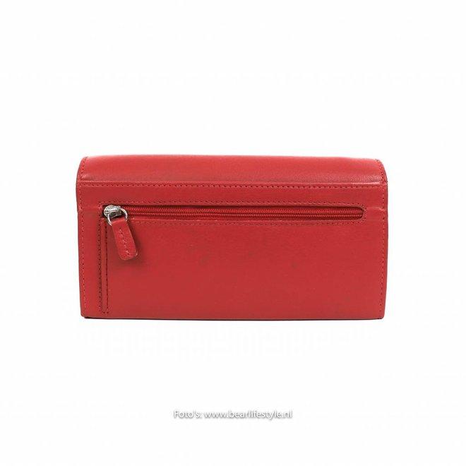Damen Geldbörse rot - FR9918