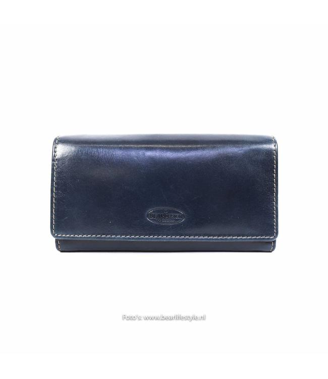 Bear Design Damesportemonnee RO9918 Blauw