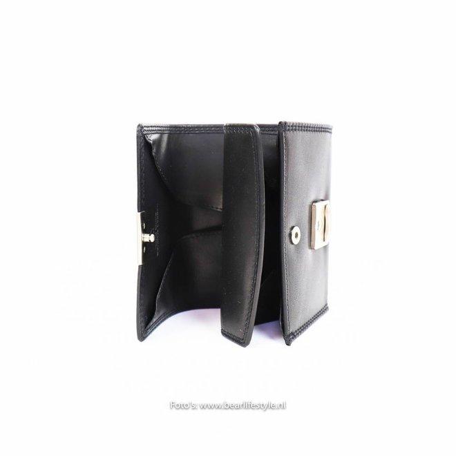 Losgeld/Bak Portemonnee M9522 Zwart