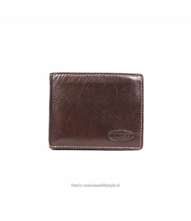 Bear Design Kleine Billfold - Bruin RO9596 Klein