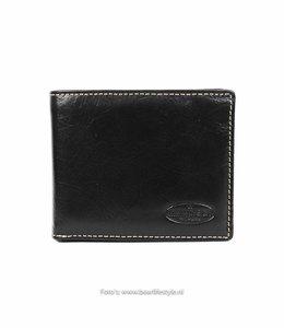 Bear Design Brieftasche RO9596 Schwarz