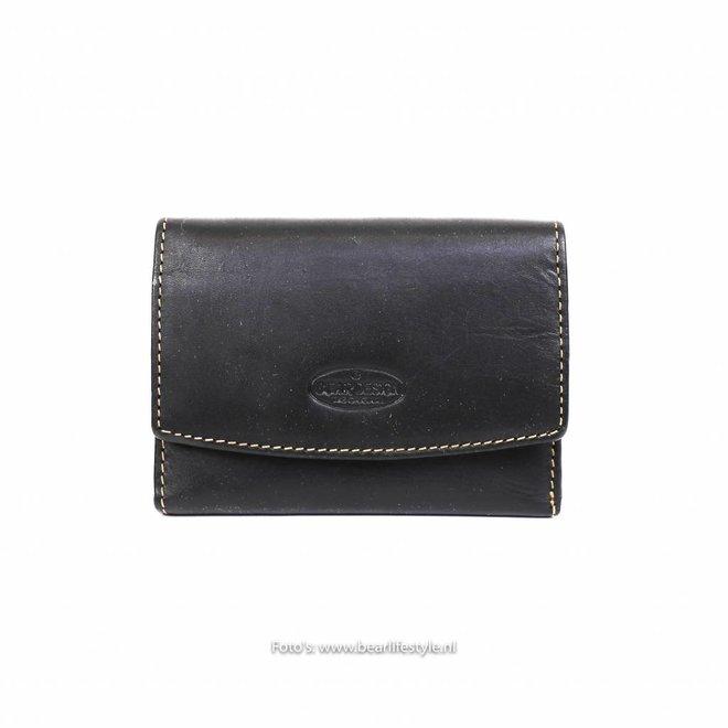 Losgeld/Bak Portemonnee RO9523 Zwart