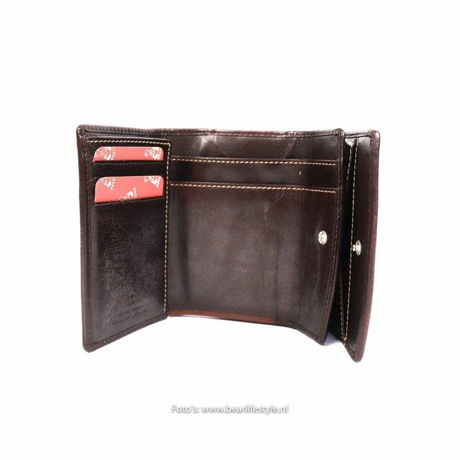 Losgeld/Bak Portemonnee RO9523 Bruin