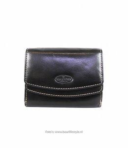 Bear Design Dames klep portemonnee - Zwart  RO7580