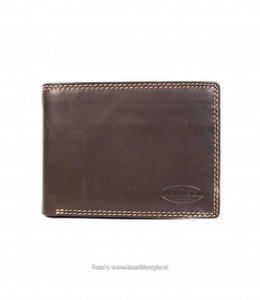 Bear Design Brieftasche - M2749 Braun