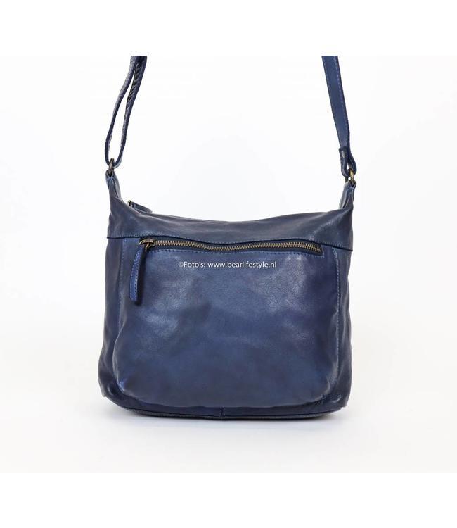 Bear Design Schoudertas Sara klein - CL 36419 Blauw
