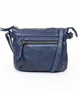 Bear Design Kleine Reißverschlusstasche 'Maud' - CL 36262 Blau