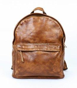 Bear Design Rucksack ' Vince' Leder - Cognac CL 36501