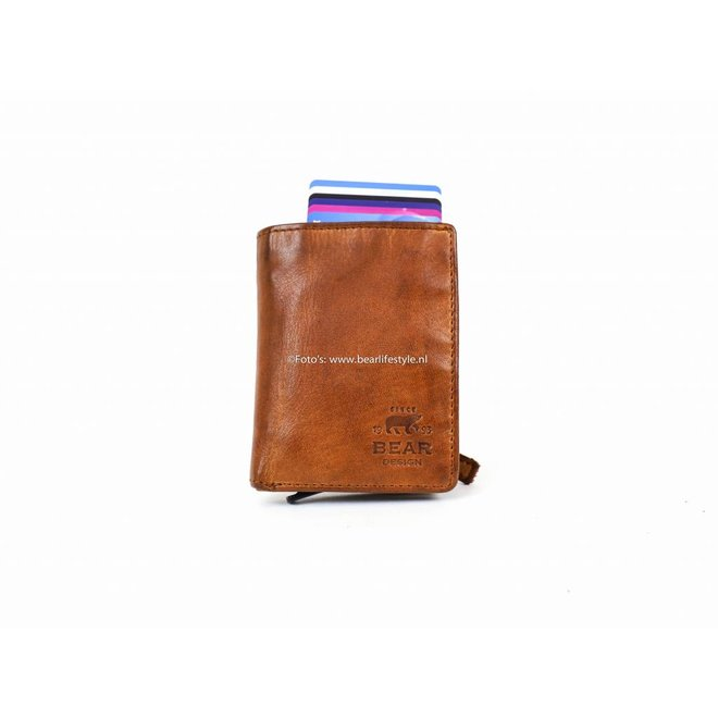 Small Wallet - RFID CL15635 Cognac