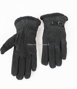 Otto Kessler Leren Handschoen Dames Chique Zwart