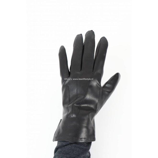 Leren Dames Handschoen Zwart