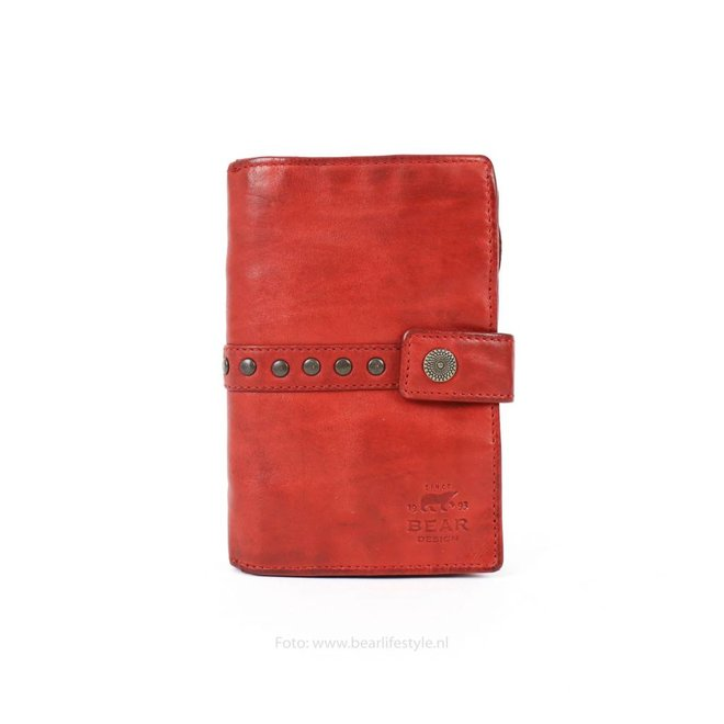 Damengeldbörse 'Studs' - Rot CL 15087