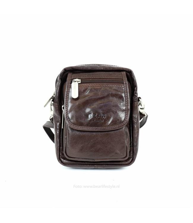 Bear Design Kleine Reisetasche Sem - RO3699 Braun