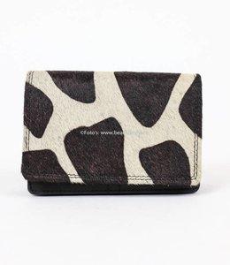 Cow Wallet Small - HH872 Schwarz
