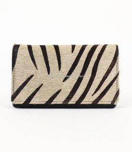 Zebra-Geldbörse - HH872 Schwarz