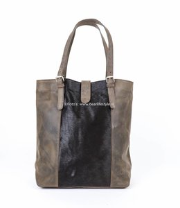 Bear Design Shopper Cow - HH30673-2 Bruin