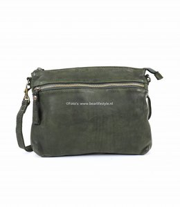 Bear Design Klein schoudertasje GR 8045 'Giana' - Groen
