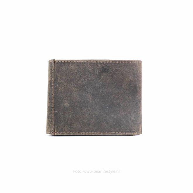 Portemonnee/Knijpportemonneetje Bruin HD8535