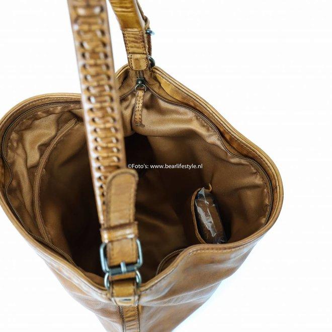 Schultertasche 'Tess' CL32851 Cognac