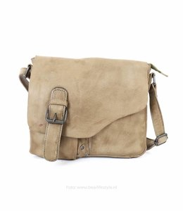 Bear Design Schultertasche 'Lauro' - Rino Grey CP0771