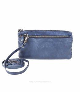 Bear Design Klein schoudertasje 'Ize' - CL 15752 Blauw