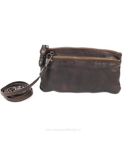 Bear Design Klein schoudertasje 'Ize' - CL 15752 Bruin