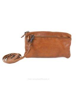 Bear Design Klein schoudertasje 'Ize' - CL 15752 Cognac