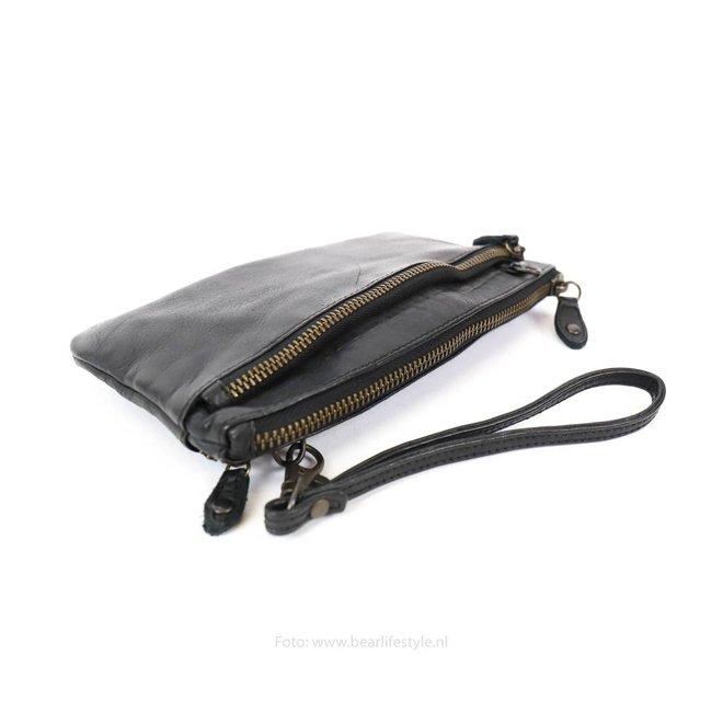 Klein schoudertasje 'Ize' - CL 15752 Zwart