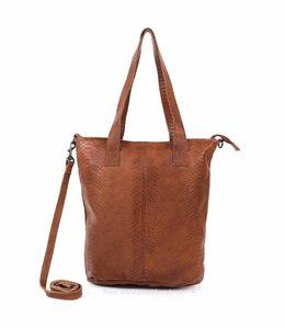 Bear Design Shopper Phyton 2087 Cognac