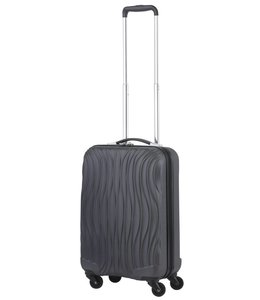 CarryOn Trolley Wave 55cm Antraciet