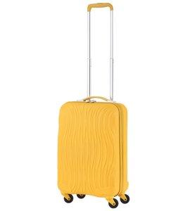 CarryOn Trolley Wave 55cm Oker geel