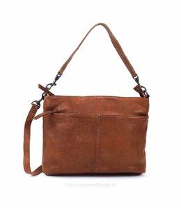 Bear Design Schulter- / Handtasche 'Angelica' - Cognac CP1536