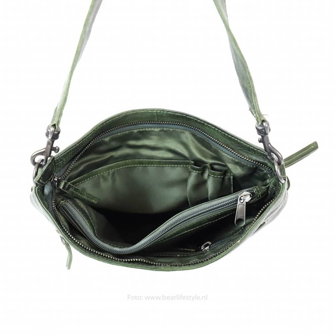Schouder-/Handtas 'Angelica' - Groen CP1536