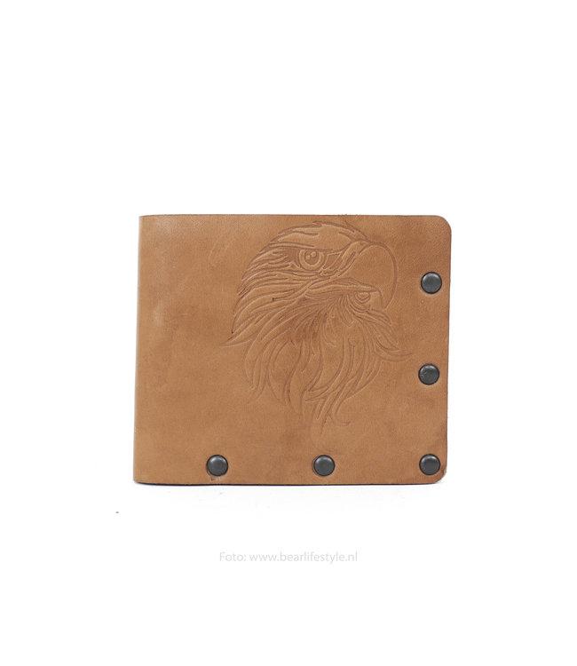 Bear Design Billfold - HOA001 bruin