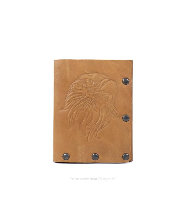Bear Design Billfold - HOA002 bruin