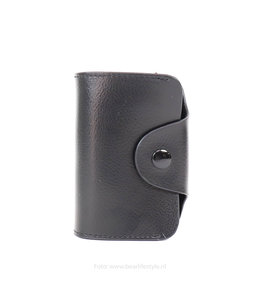 Bear Design Pasjes portemonnee BS001 - Zwart