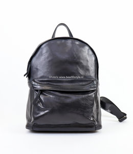 Bear Design Rugzak Leder 'Vince' - Zwart CL 36501